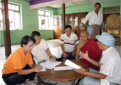 CTF Meeting in Kungyangon