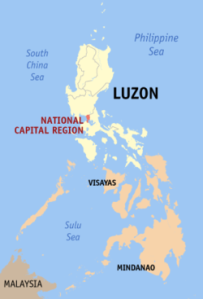 Luzon and Metro Manila