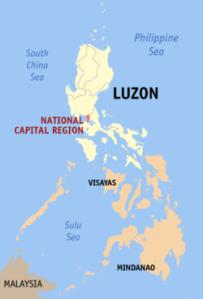 Luzon and Metro Manila