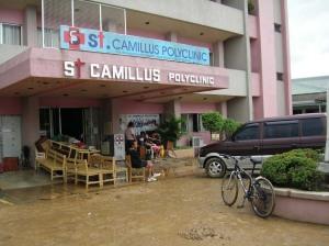 St. Camillus Polyclinic Suffers Flood Damage